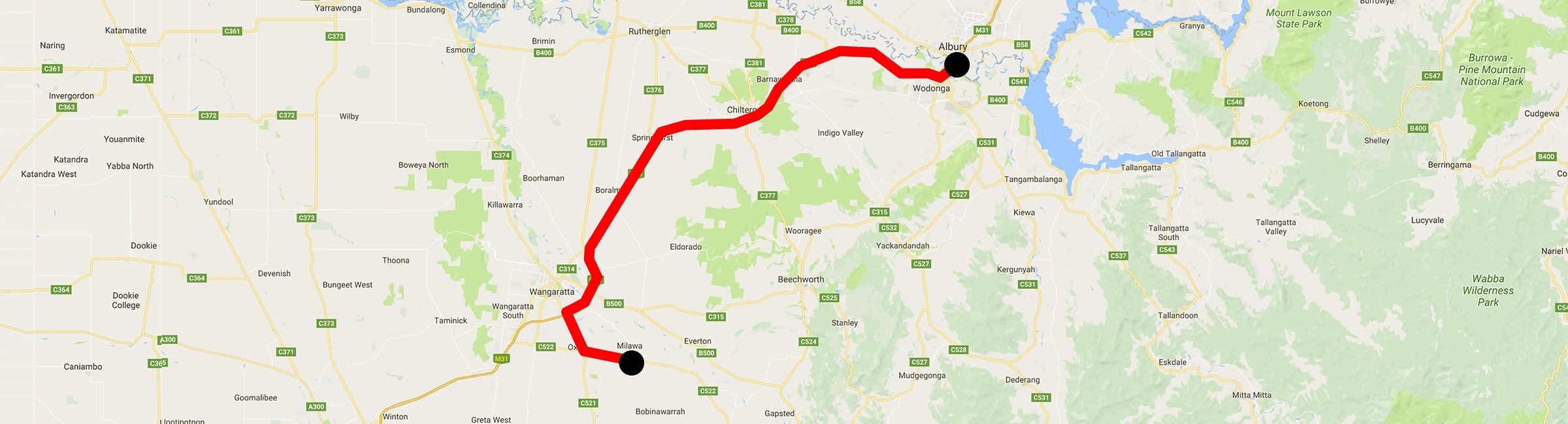 Day Trip - Milawa - Albury - Albury Taxis