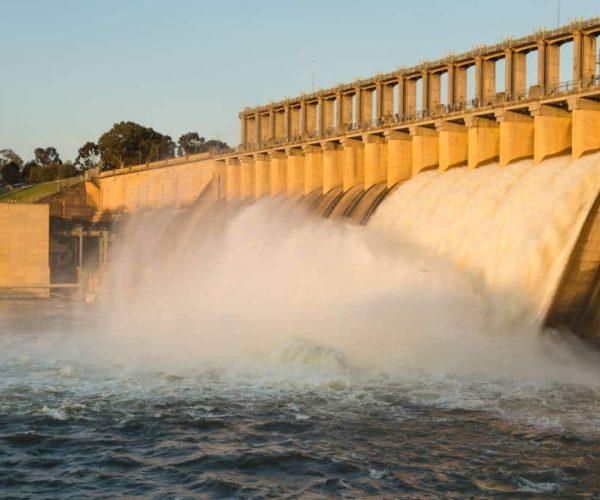 Hume Dam Wall